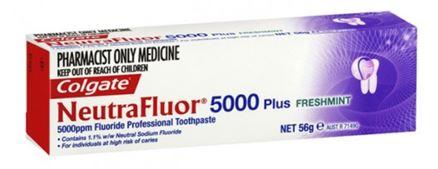 Campbelltown Family Dental Care Neutrafluor toothpaste 5000