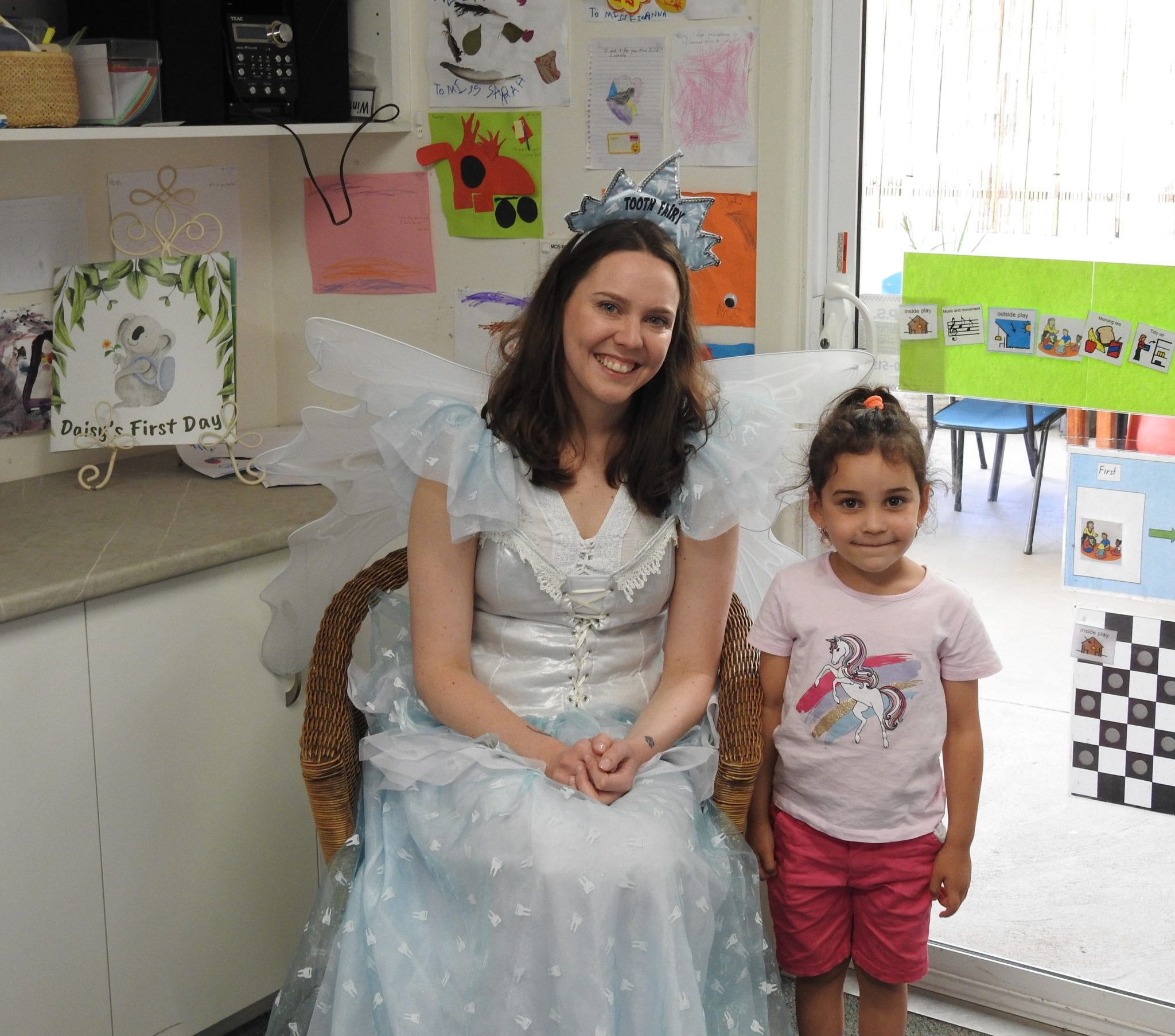 Campbelltown Family Dental Care Campbelltown Preschool visit 2020 Tooth Fairy