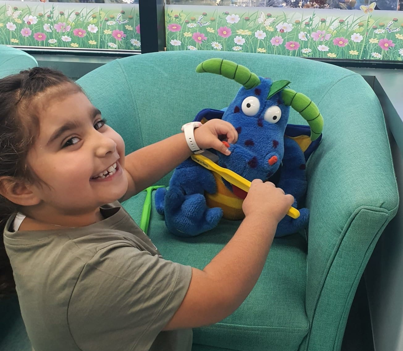Campbelltown Family Dental Care 1st visit OHI toy