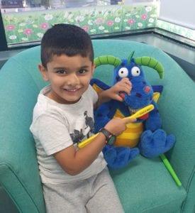 Campbelltown Family Dental Care child first dental visit