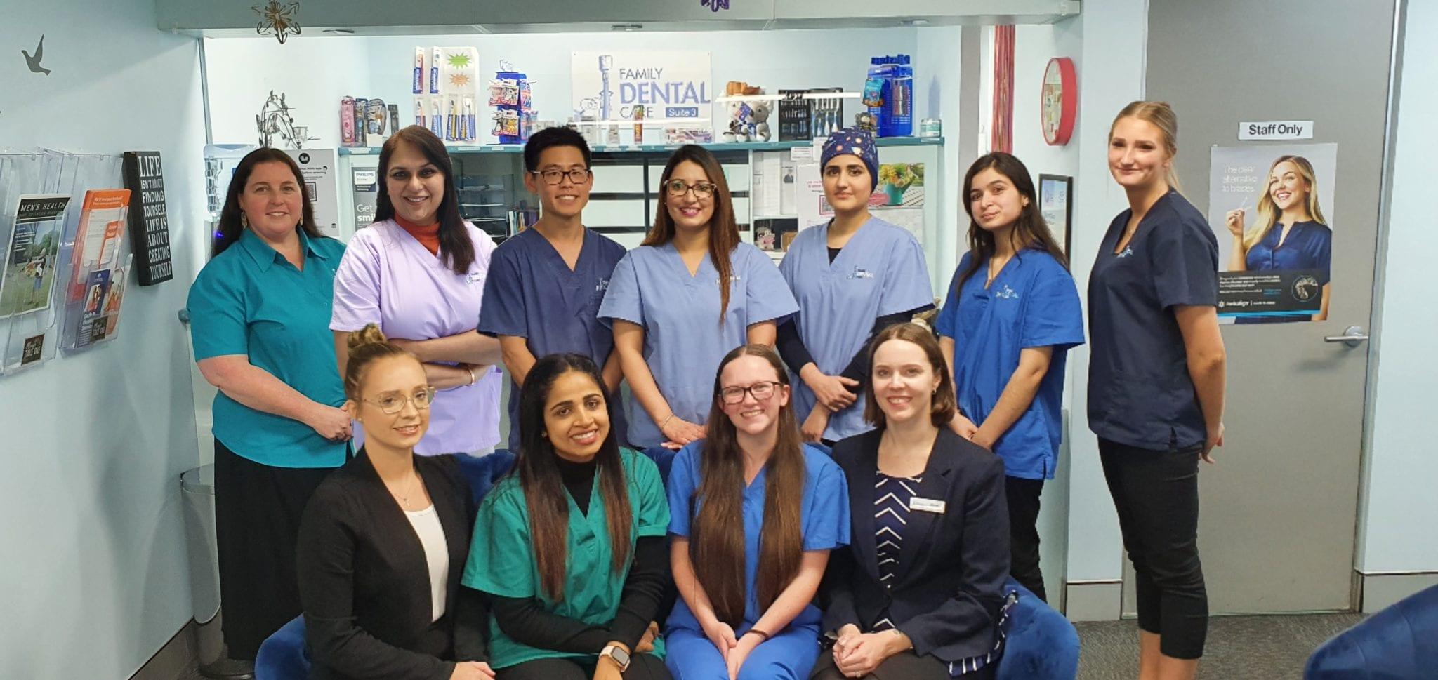 Campbelltown Family Dental Care Full Group team photo