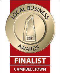 2021 local business finalist award